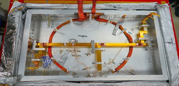 Ban, Figure 4 TolTEC's optics bench with 32 thermometers located throughout several positions within the cryostat.